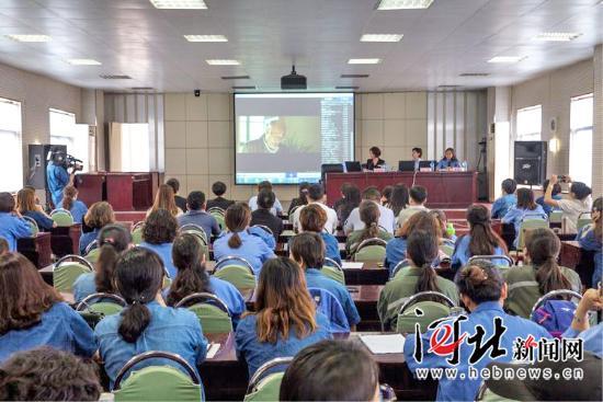 """邯郸市""""木兰有约""""法治宣讲团走进邯钢(图)"""